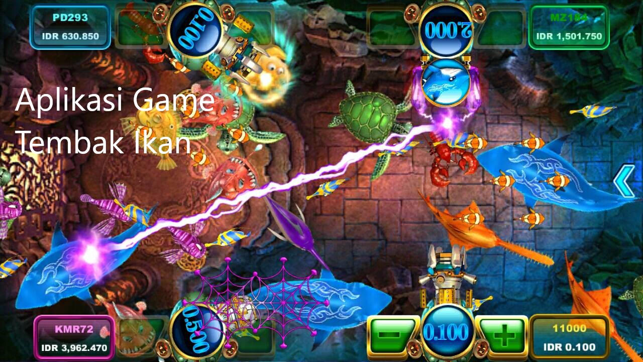 Tips Menang Judi Fish Hunter Atau Tembak Ikan Online Indonesia